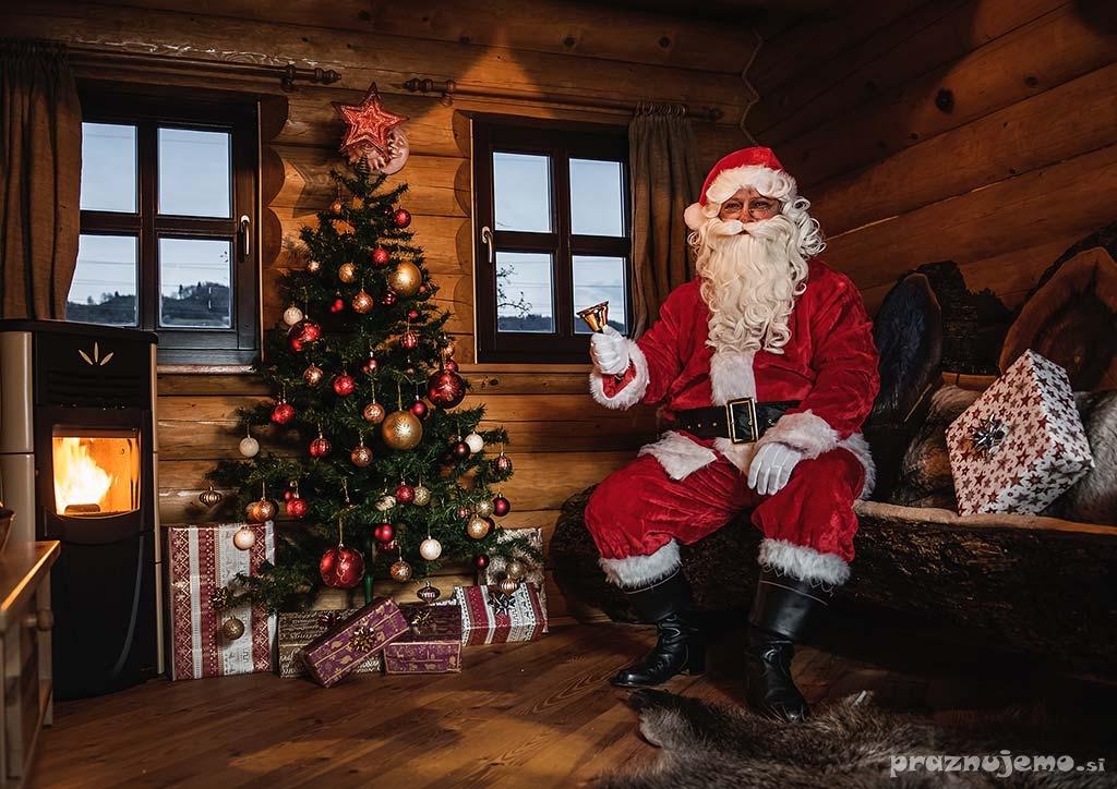 Najem in obisk Božička