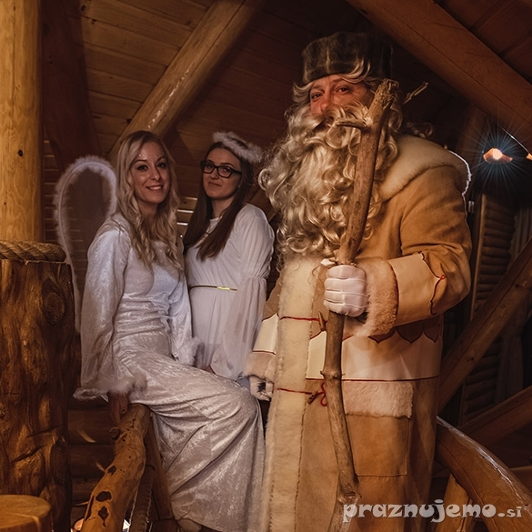Najem in obisk Dedka Mraza